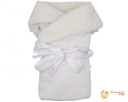 Одеяло конверт (Мех, Велюр) ЕВРО