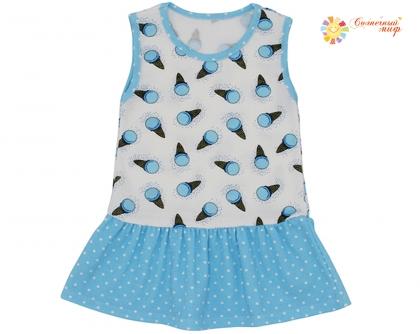 Платье-сарафан (интерлок)