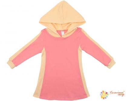 Платье №9 с капюшоном (Интерлок)