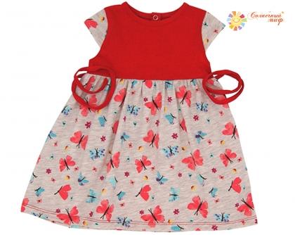 Платье на кокетке (Кулирка)